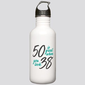 50 Is Great Stainless Water Bottle 1.0L
