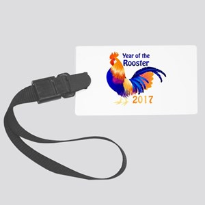 Year of the Rooster 2017 Large Luggage Tag