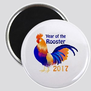 Year of the Rooster 2017 Magnet