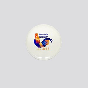 Year of the Rooster 2017 Mini Button
