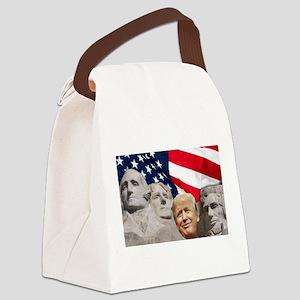 MT. Trump Canvas Lunch Bag