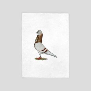 Valencian Figurita Pigeon 5'x7'area Rug