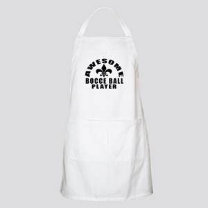 Awesome Bocce Ball Player Designs Apron