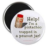 Pistachio in Peanut Jar Magnet