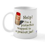 Pistachio in Peanut Jar Mug