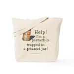 Pistachio in Peanut Jar Tote Bag