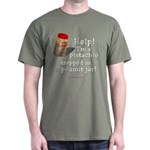Pistachio in Peanut Jar Dark T-Shirt