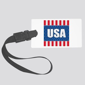 USA - America Large Luggage Tag