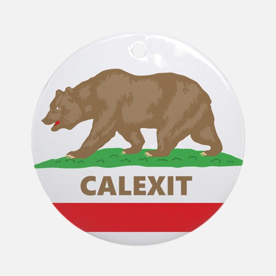 calexit Round Ornament