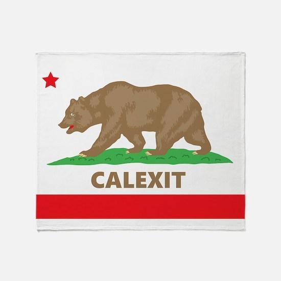 calexit Throw Blanket