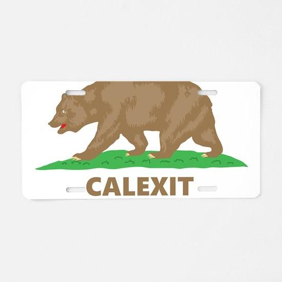 calexit Aluminum License Plate