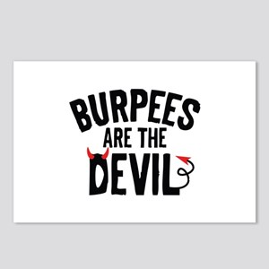 Burpees Are The Devil Postcards (Package of 8)