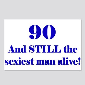 90 Still Sexiest 2 Blue Postcards (Package of 8)