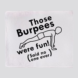 Those Burpees Were Fun Stadium Blanket