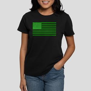 Marijuana American Flag T-Shirt