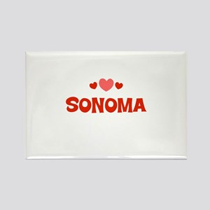 Sonoma Rectangle Magnet