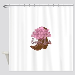 Cowgirl princess Shower Curtain