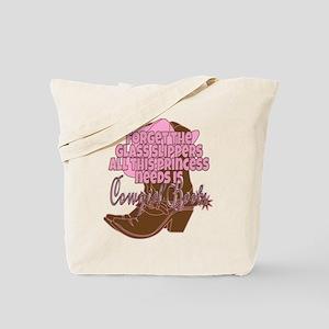 Cowgirl princess Tote Bag