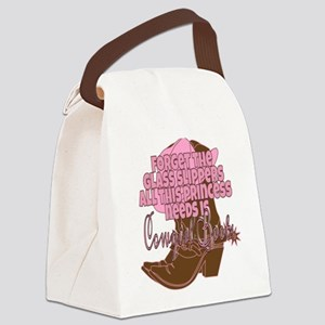 Cowgirl princess Canvas Lunch Bag