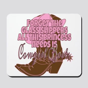 Cowgirl princess Mousepad