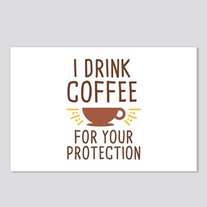I Drink Coffee Postcards (Package of 8)