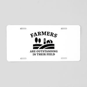 Farmers Aluminum License Plate