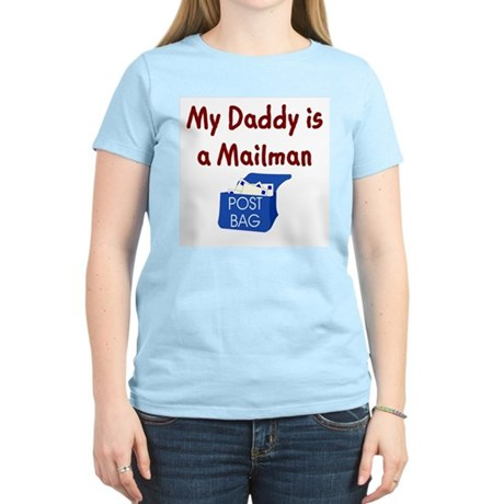 My Daddy Is A Mailman Kids T-Shirt