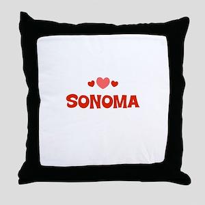 Sonoma Throw Pillow