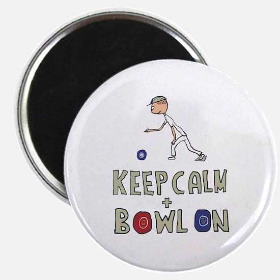 Keep Calm Bowls Magnets