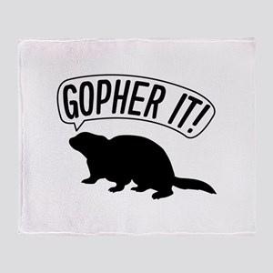 Gopher It Stadium Blanket