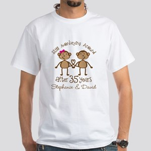 35th Anniversary Personalized Gift T Shirt