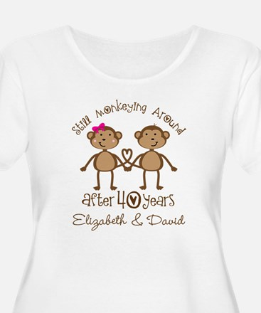 40th Anniversary Funny Personalized Gift Plus Size