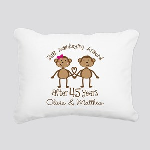 45th Wedding Anniversary Personalized Rectangular
