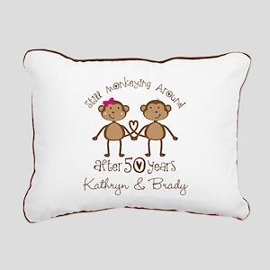 50th Wedding Anniversary Personalized Rectangular