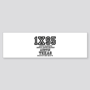 TEXAS - AIRPORT CODES - 1XS5 - AUST Bumper Sticker
