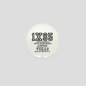 TEXAS - AIRPORT CODES - 1XS5 - AUSTIN Mini Button