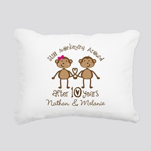 10th Anniversary Funny Personalized Gift Rectangul