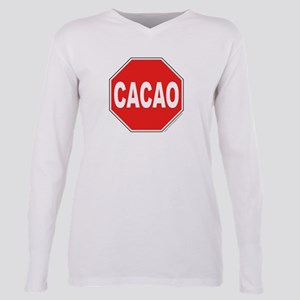 Cacoa Portlandia Plus Size Long Sleeve Tee