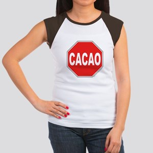 Cacoa Portlandia Junior's Cap Sleeve T-Shirt