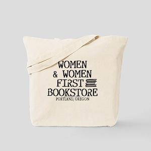 Women & Women First Bookstore Tote Bag