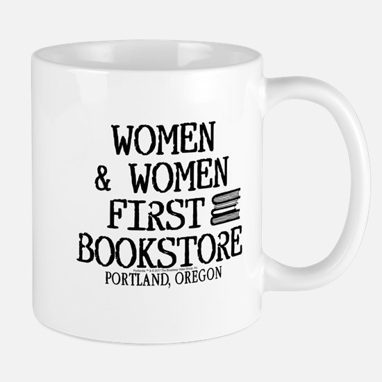 Women & Women First Bookstore Mug