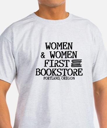 Women & Women First Bookstore T-Shirt