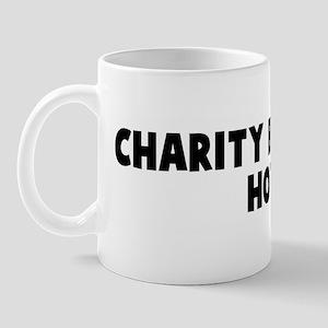 Charity begins at home Mug