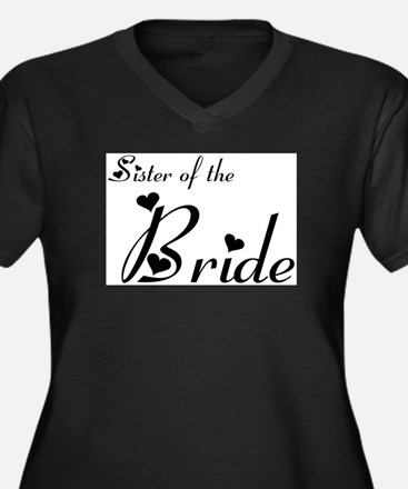 FR Sister of the Bride's Plus Size T-Shirt