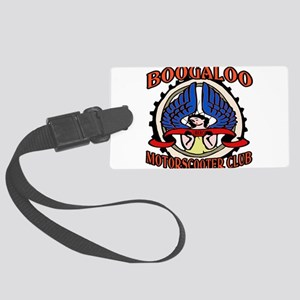 Motor Scooter Clubs Large Luggage Tag