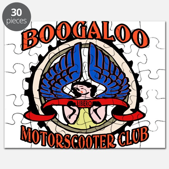 Motor Scooter Clubs Puzzle