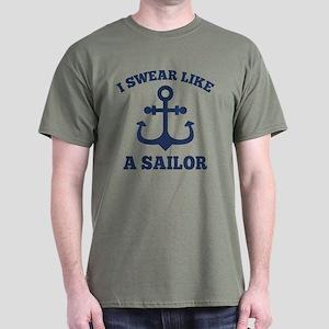 I Swear Like A Sailor Dark T-Shirt