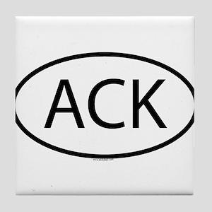 ACK Tile Coaster