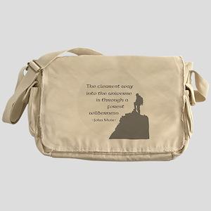 To Universe Messenger Bag