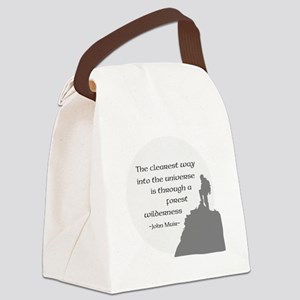 To Universe Canvas Lunch Bag